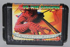 Картридж Sega 16bit SPIDER-MAN VS THE KINGPIN