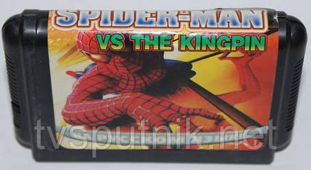 Картридж Sega 16bit SPIDER-MAN VS THE KINGPIN, фото 2