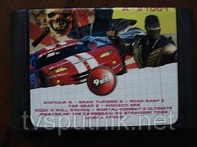 Картридж Sega 16bit Збірник ігор A-91001