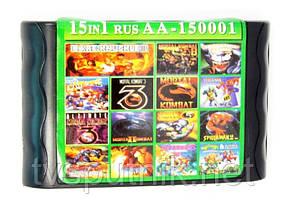 Картридж Sega 16bit Збірник ігор AA 150001