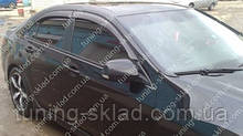 Вітровики вікон Хонда Акорд 8 (дефлектори бокових вікон Honda Accord 8)