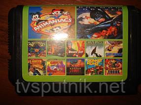 Картридж Sega 16bit Збірник ігор AA-12001