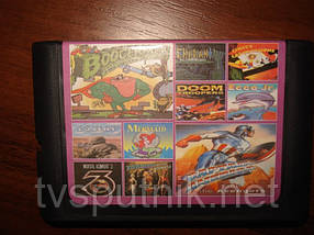 Картридж Sega 16bit Сборник игр  AA-10004