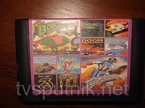 Картридж Sega 16bit Збірник ігор AA-10004