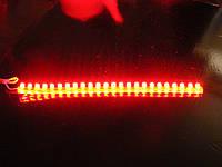 Светодиодная лента DIP 24, с влагозащитой. Красный