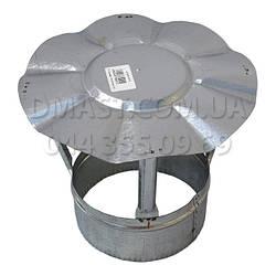 Грибок для дымохода ф100 из нержавеющей стали