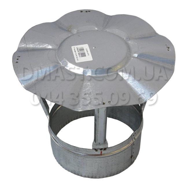 Грибок для дымохода ф120 из нержавеющй стали