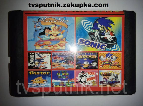 Картридж Sega 16bit Сборник игр AA-10002, фото 2