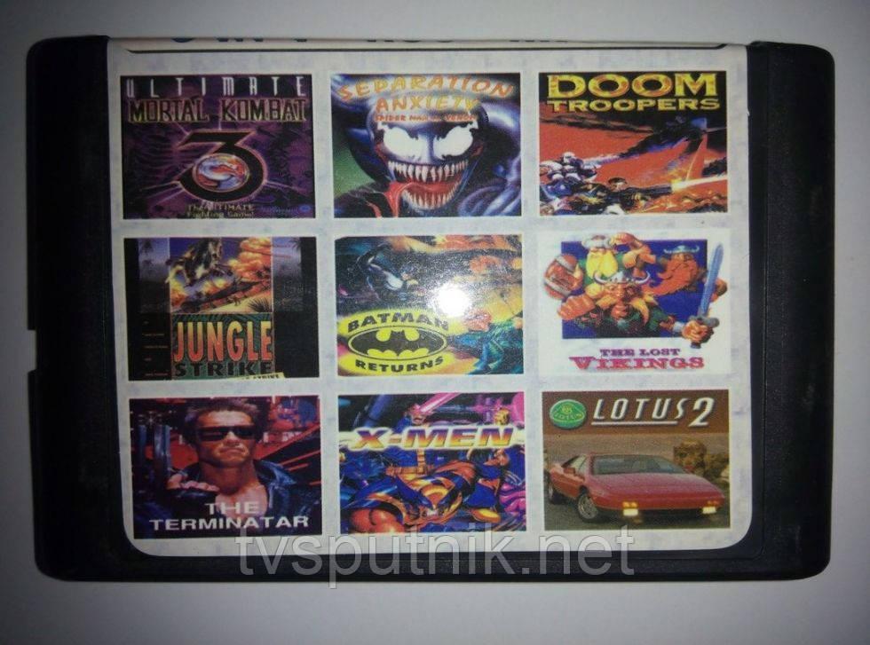 Картридж Sega 16bit Сборник игр MA-906