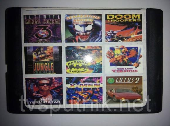 Картридж Sega 16bit Сборник игр MA-906, фото 2