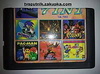 Картридж Sega 16bit Сборник игр SK-7002