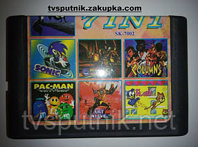 Картридж Sega 16bit Збірник ігор SK-7002