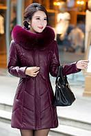 Женский стильный зимний пуховик. Модель 1014, фото 2