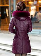 Женский стильный зимний пуховик. Модель 1014, фото 3