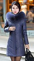 Женский стильный зимний пуховик. Модель 1014, фото 6