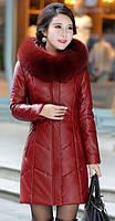 Женский стильный зимний пуховик. Модель 1014, фото 8