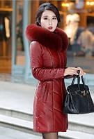 Женский стильный зимний пуховик. Модель 1014, фото 9