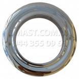 Розетта для дымохода ф120 из нержавеющей стали