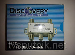 Коммутатор DiSEqC 4x1 Discovery 777Q