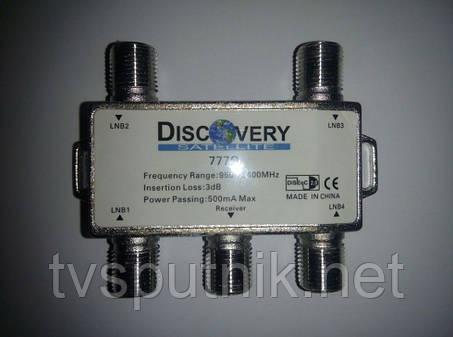 Комутатор DiSEqC 4x1 Discovery 777Q, фото 2