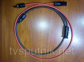 Комплект сполучних кабелів з роз'ємами MC4 довжиною 1м