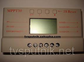 Контроллер заряда АБ MPPT30 12/24В