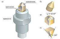 Инденторы Берковича, Кнупа и другие типы для микротвердомеров, фото 1