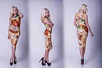 """Женское платье """"Соблазн"""" цветы"""
