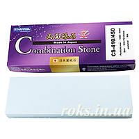 Абразивный точильный камень для заточки NANIWA Combi Series Stone 120/1000 (175x55x25мм