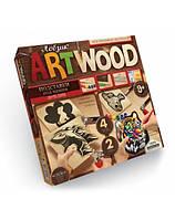 Набор для творчества ARTWOOD вырезание лобзиком 106106, подставка под чашки,