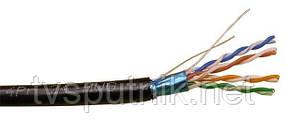 Омеднённая витая пара  FТР 0,50 CCA 4PR Outdoor  Cat5E (уличная)