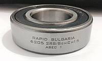 Шариковый радиальный подшипник однорядный 6205 2 RS ABEC 1