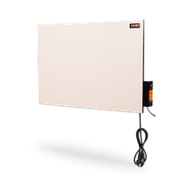 DIMOL бытовая ИК керамическая нагревательная панель  Mini Plus c иновационной системой умного контроля 370 вт кремовая