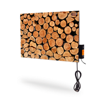DIMOL бытовая ИК керамическая нагревательная панель  Mini Plus c иновационной системой умного контроля 370 вт с рисунком