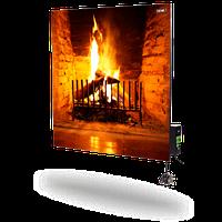 DIMOL керамический инфракрасный обогреватель  standart 03 с терморегулятором 370 Вт с рисунком