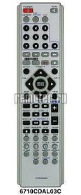 Пульт  LG 6710CDAL03C (DVD+AUX+Karaoke)
