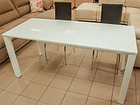 Стол обеденный раскладной DF-202T белый