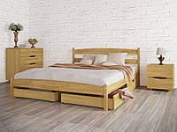 Бюджетная кровать Лика стандарт с ящиками