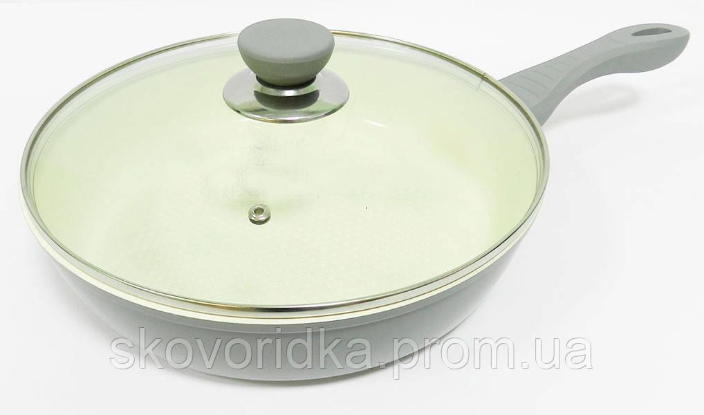 Lessner Ceramiс Line Сковорода Silver D=22х5,0см 88345-22 S
