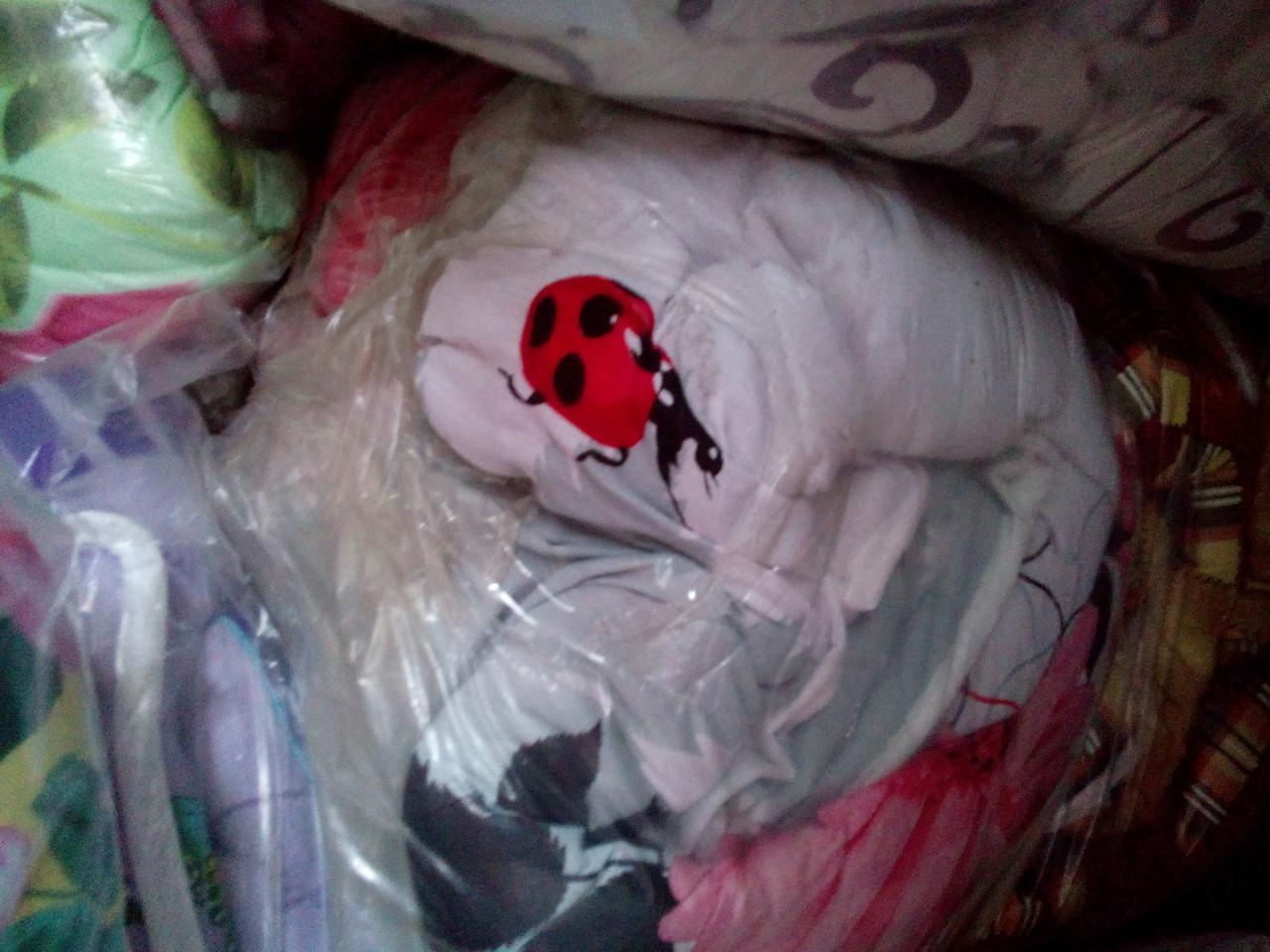 Двуспальное одеяло из овечьей шерсти (бязь)