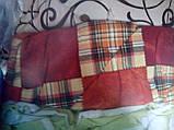 Двуспальное одеяло из овечьей шерсти (бязь) , фото 3