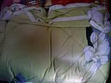Двуспальное одеяло из овечьей шерсти (бязь) , фото 4