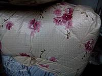 Двуспальное одеяло из овечьей шерсти (бязь) , фото 1