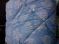 Полуторное одеяло из овечьей шерсти (бязь)
