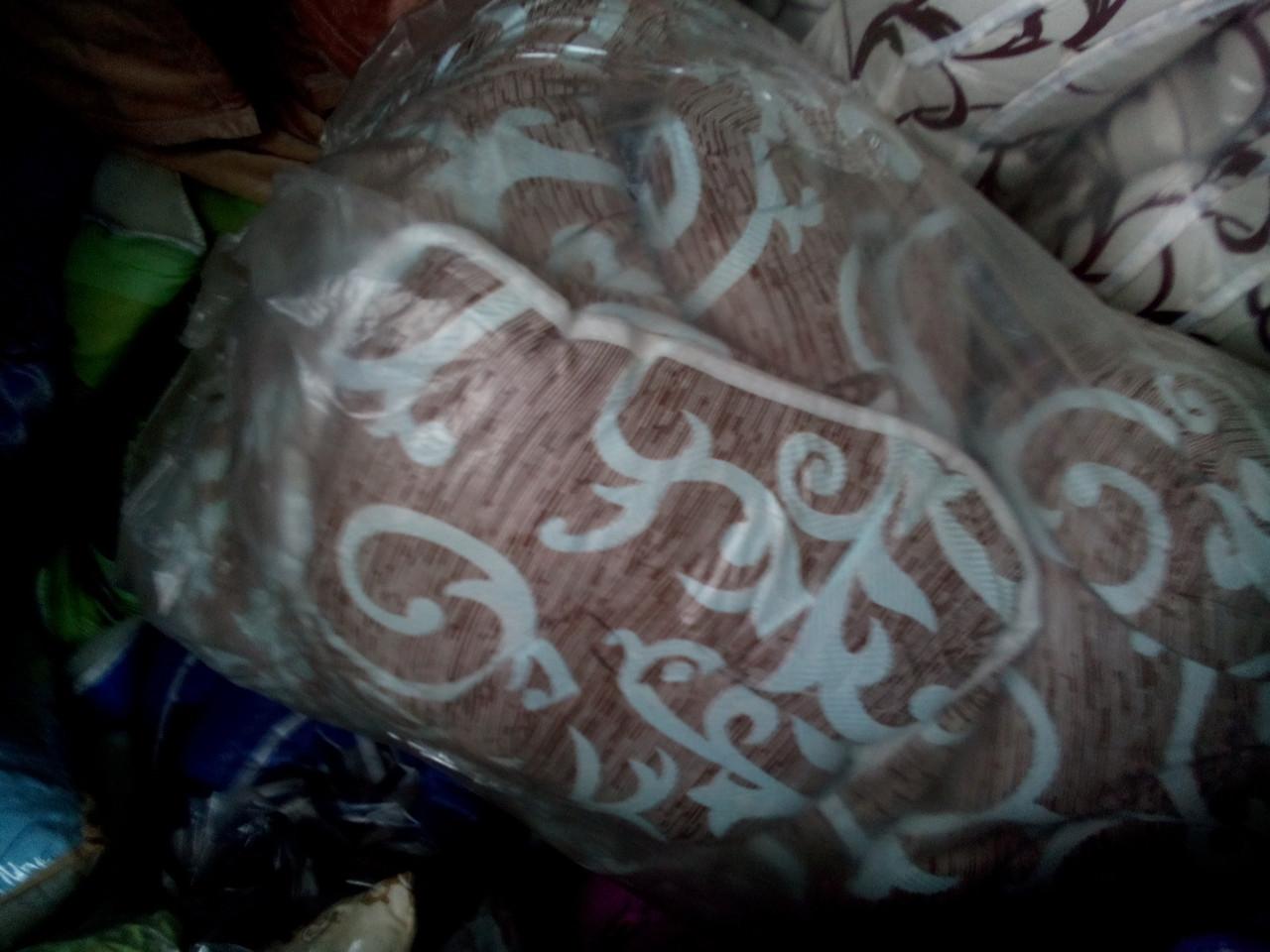 Одеяло из овечьей шерсти евро (бязь)