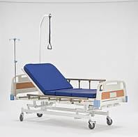 Кровать механическая медицинская четырехсекционная HBM-2S