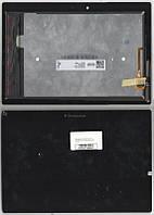 Дисплей для планшета Lenovo a10-70f , A10-70L Tab 2 + сенсорный экран чёрный