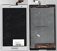 Дисплей для планшета LENOVO TAB 2  A8-50F, A8-50LC  A8-50L + сенсорный экран белый