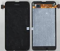 Дисплей + сенсор Microsoft Lumia 530 (Nokia) чёрный