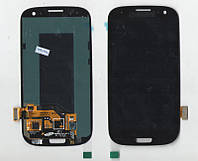 Дисплей + сенсор Samsung i9300 Galaxy S III ЧЁРНЫЙ
